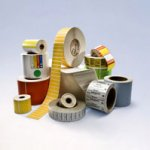Intermec Direct Thermal Label, Thermal Eco Paper range, 76mm core, 102mm x 76mm (w x l), 8-pack [I23623]